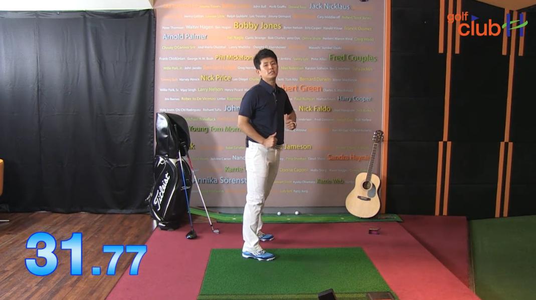 [1분레슨] 비거리를 늘릴 수 있는 스윙연습 첫번째 l 김운호프로