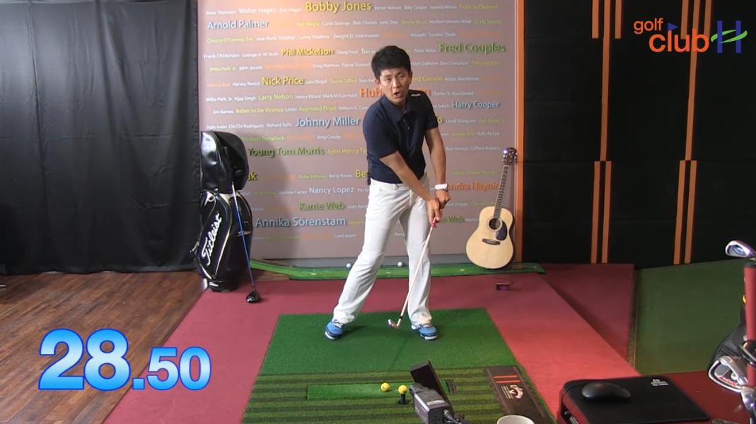 [1분레슨] 비거리를 늘릴 수 있는 스윙연습 두번째 l 김운호프로