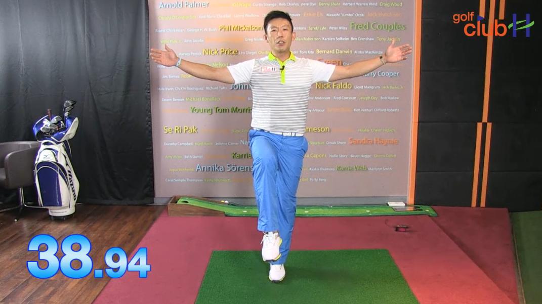 [1분레슨] 어디서나 할 수 있는 골프 운동법 l 박대성프로
