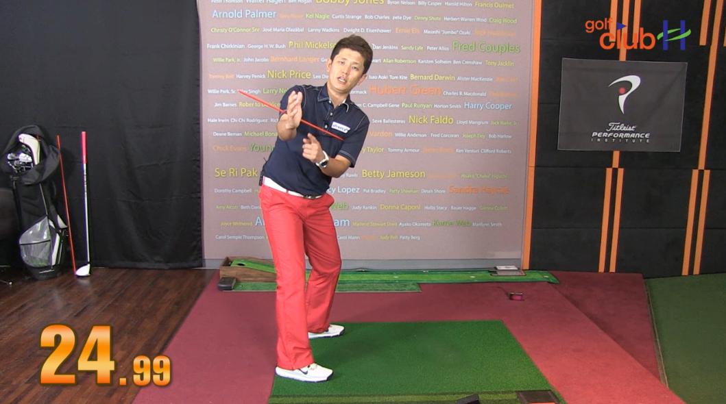 [1분레슨] 정확한 몸통 회전 연습 방법 l 김운호프로