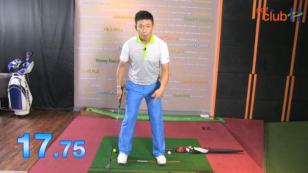 [1분레슨] 스윙시 척추각 유지하는 방법 part 1 ㅣ 박대성프로