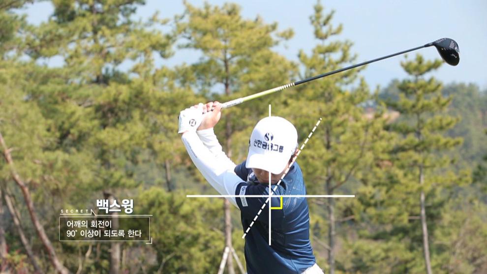 김경태, 모중경 백스윙 정리