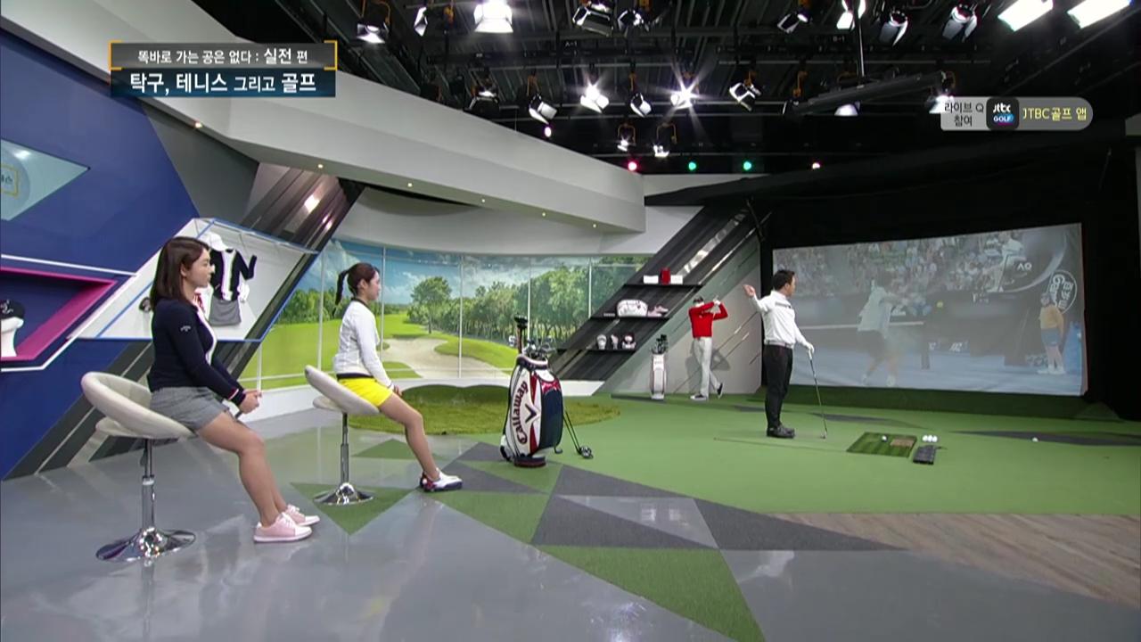 이병옥 프로, 골프는 필드 테니스다
