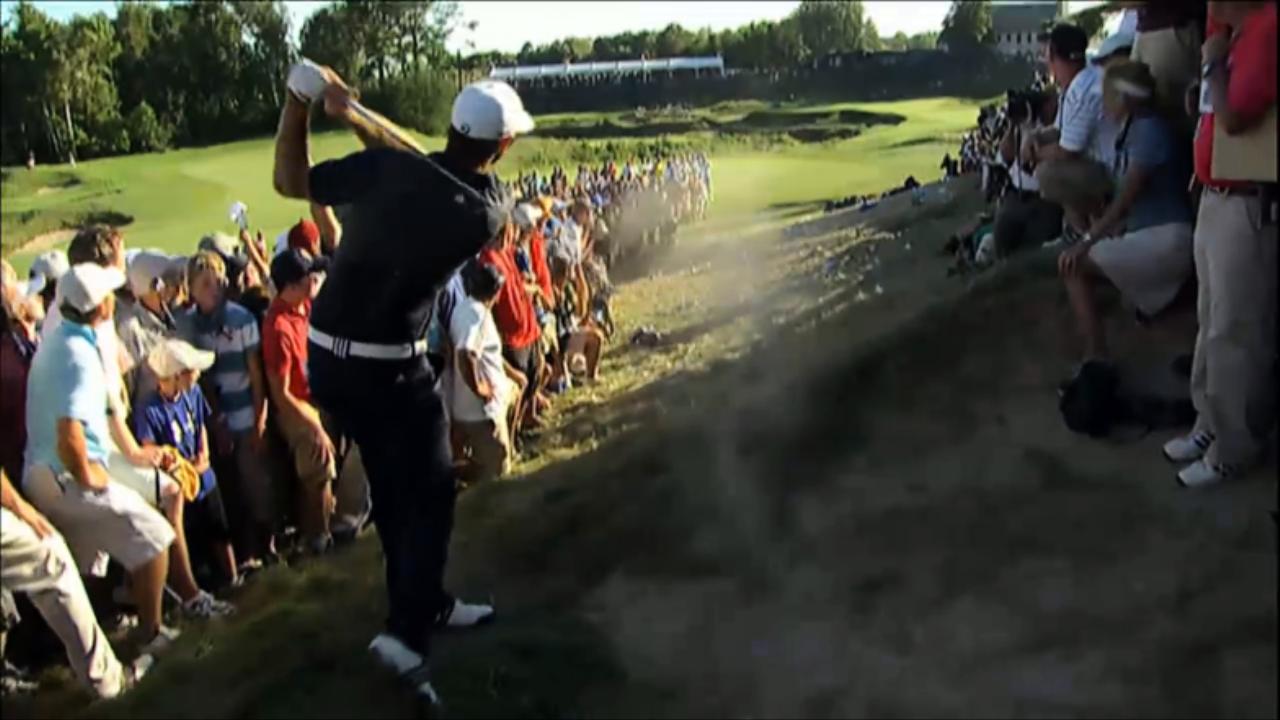 골프룰 - 2010 PGA 챔피언십에서 더스틴 존슨의 벌타
